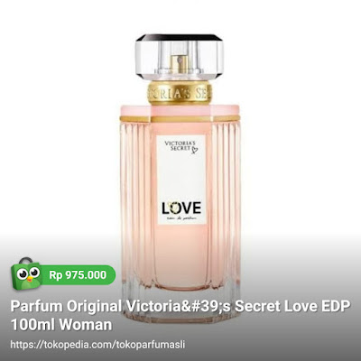 toko parfum asli parfum original victoria secret love edp 100ml woman