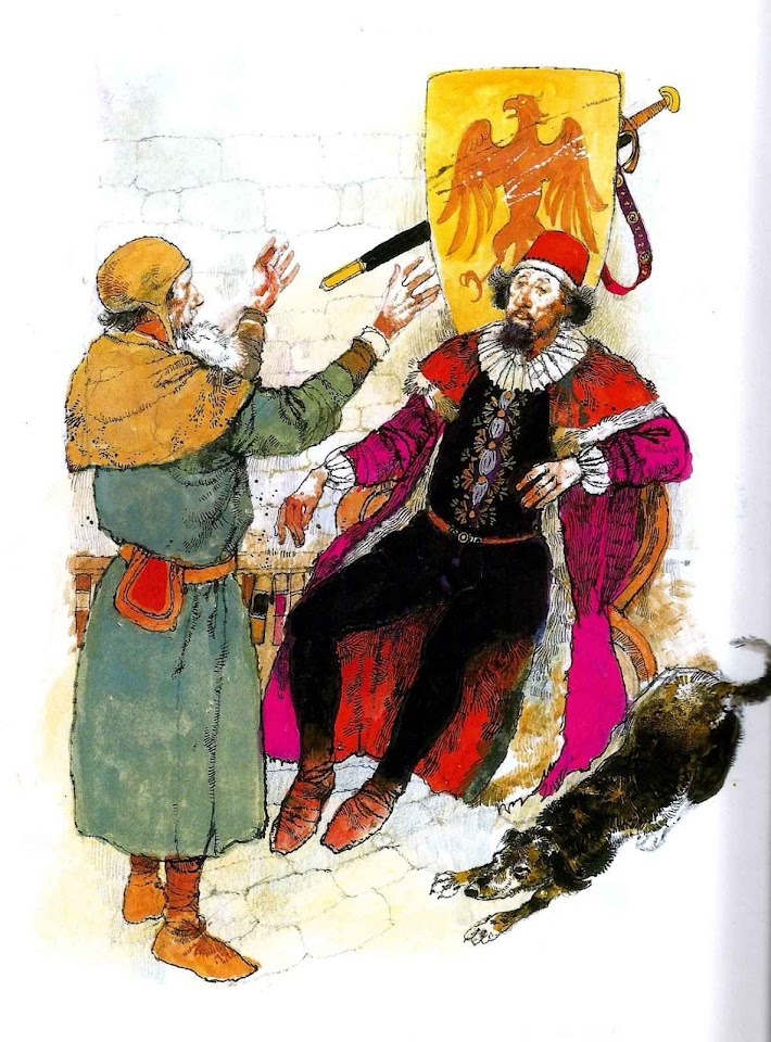 El Conde Lucanor, ilustração Víctor G. Ambrus