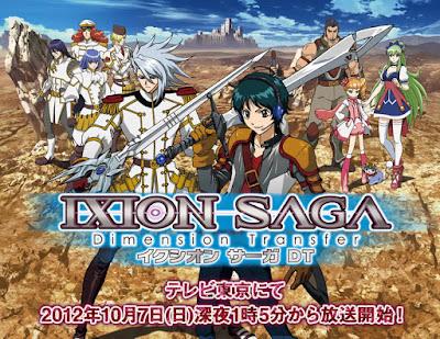 جميع حلقات انمي Ixion Saga DT مترجم عدة روابط