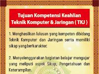 Desain Banner Tujuan Kompetensi Keahlian TKJ