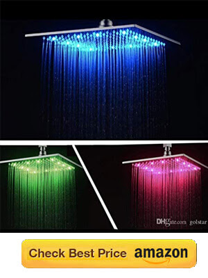 Best Led Showers for Bathroom with Color Changing lights