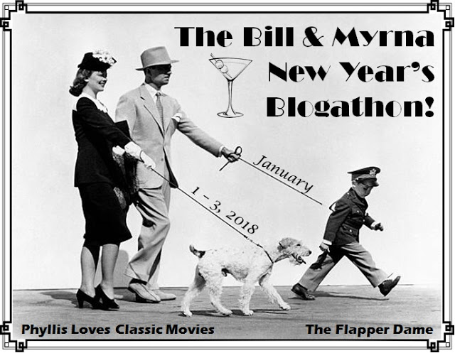 The Bill & Myrna New Year's Blogathon!
