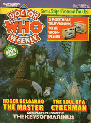 Doctor Who Weekly #7, Tom Baker and Lis Sladen