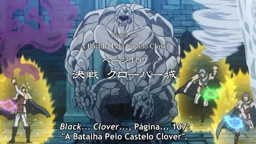 Black Clover Episódio 107
