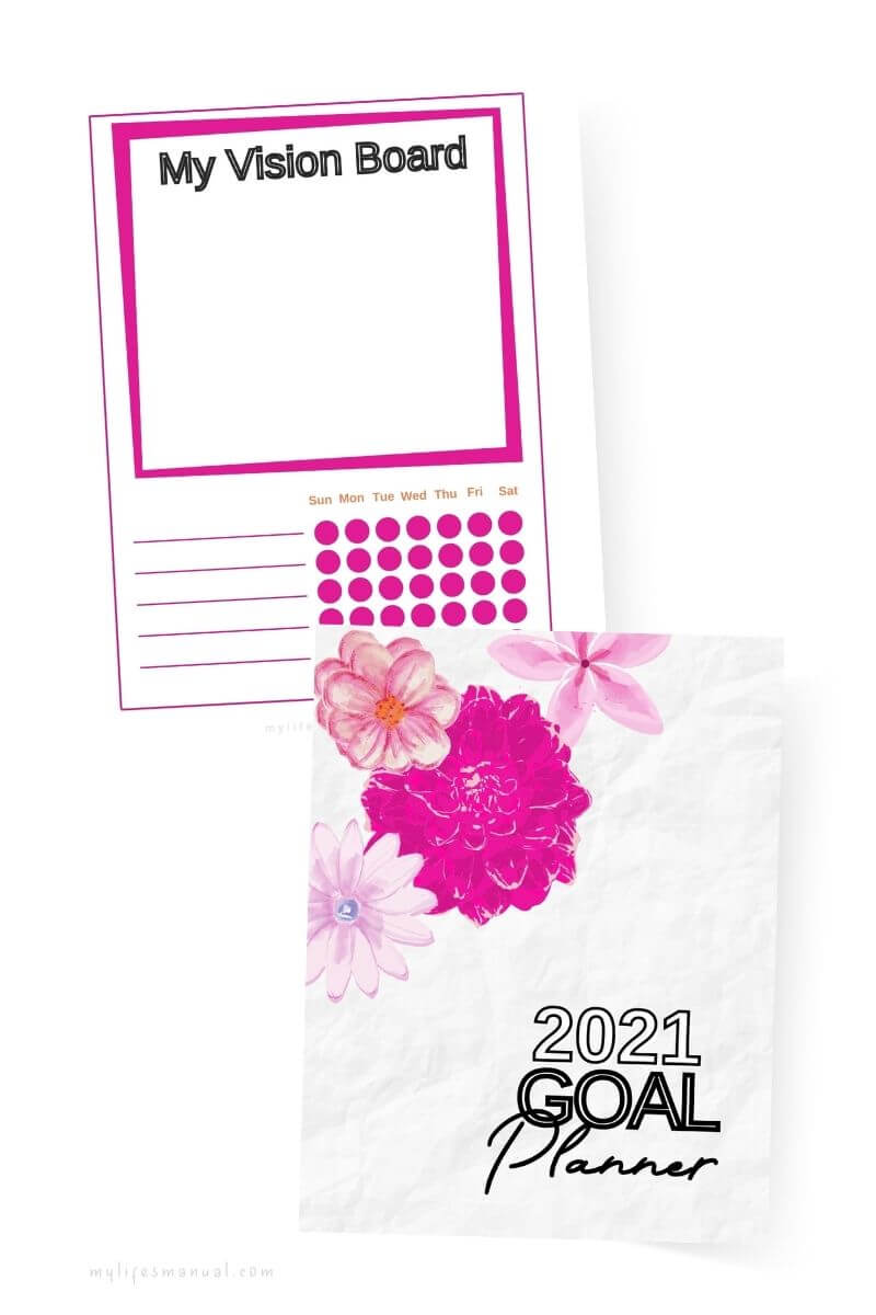 Goal Planner 2021 Printables