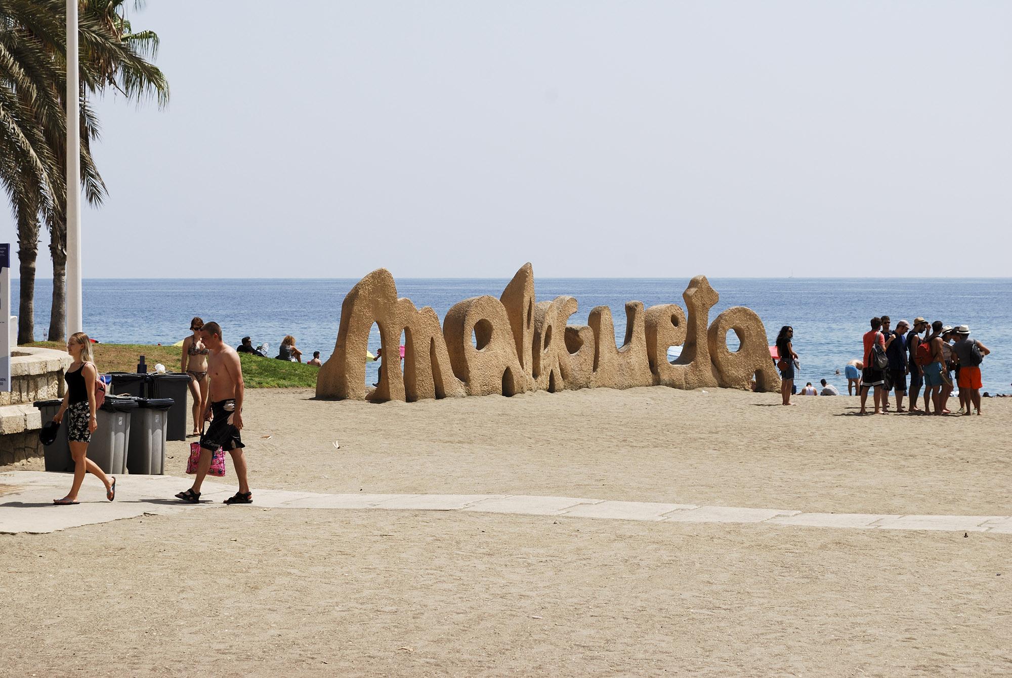 Playa malagueta, Malaga