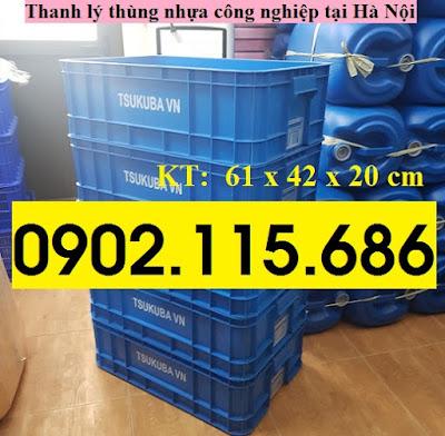 Thanh lý thùng nhựa công nghiệp tại hà nội, khay nhựa công nghiệp tại hà nội, hộp nhựa công nghiệp tại hà nội, 0