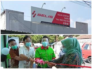 Launching Showroom Selis di Garut dihadiri Ketua Kadin Indonesia dan Anggota DPRD Garut