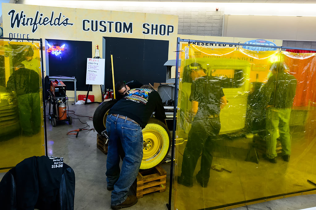 Winfield's Custom Shop at World of Wheels