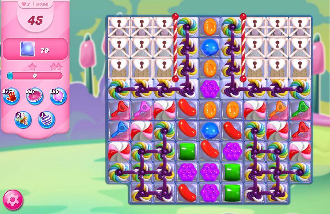Candy Crush Saga level 8420
