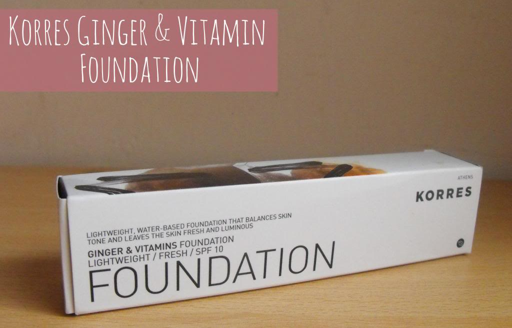 Korres Ginger & Vitamins Foundation