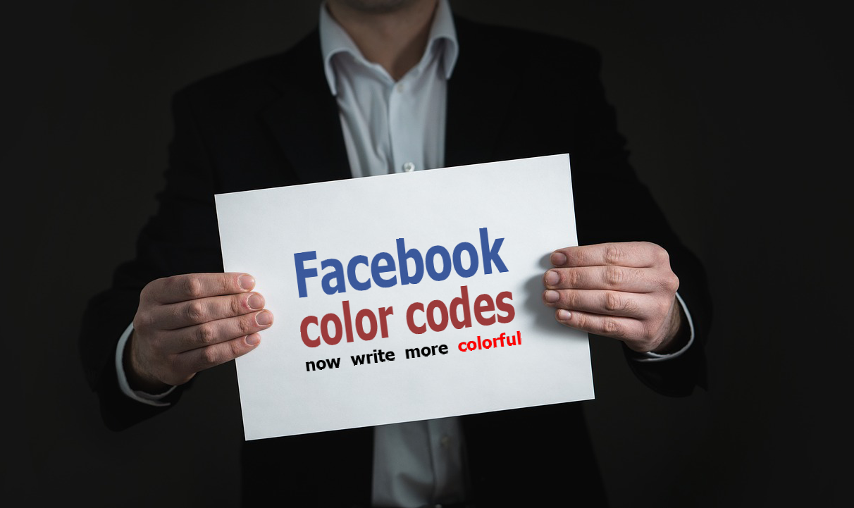Color Codes For Facebook Facebook Font Background Color