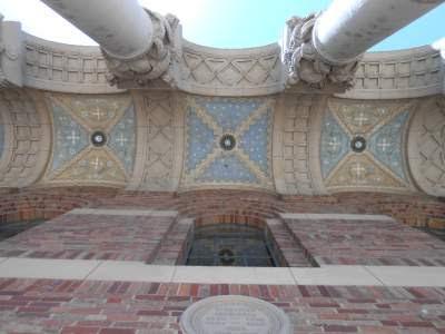 spiritual disorientation, spiritual awakening, ceiling, pillars, mosaic