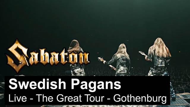 """Sabaton - """"Swedish Pagans"""" (Live)"""