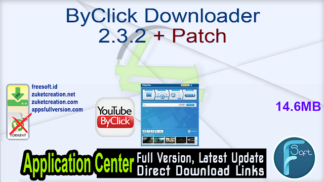 ByClick Downloader 2.3.2 + Patch