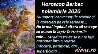 Horoscop Berbec noiembrie 2020
