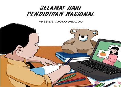 Presiden Jokowi, Pandemi Covid-19 Beri Hikmah Dalam Pembelajaran Siswa