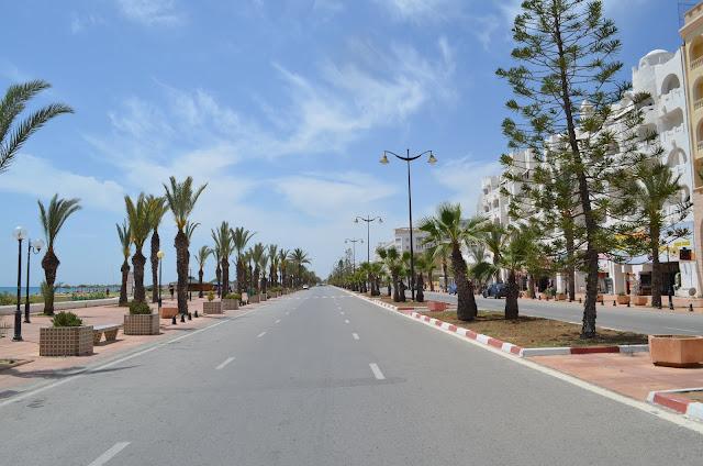 Yasmine Hammamet, a cidade dos maravilhosos Resorts no Litoral da Tunísia