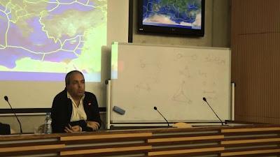 Διάλεξη Ν. Λυγερού με θέμα Θαλασσοστρατηγική, τοποστρατηγική και ΑΟΖ . ΤΕΠΑΚ, Λεμεσός. 16-12-014