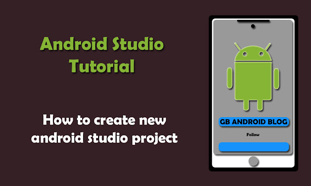 how a create new project in android studio