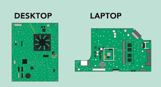 اللوحة الأم لسطح المكتب والكمبيوتر المحمول