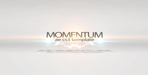 After Effects Template: Momentum – VideoBlocks