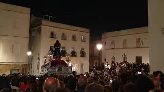 Padre Jesús Cautivo Medinaceli por la Plaza Fray Félix en la Semana Santa Cádiz 2019