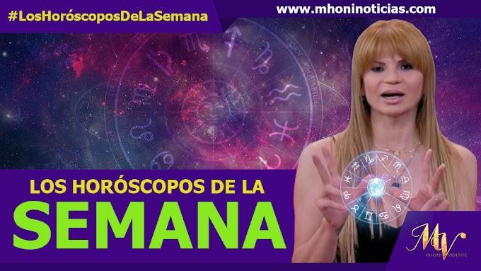 Los Horóscopos de La SEMANA del 20 al 26 de SEPTIEMBRE del 2021 - Mhoni Vidente