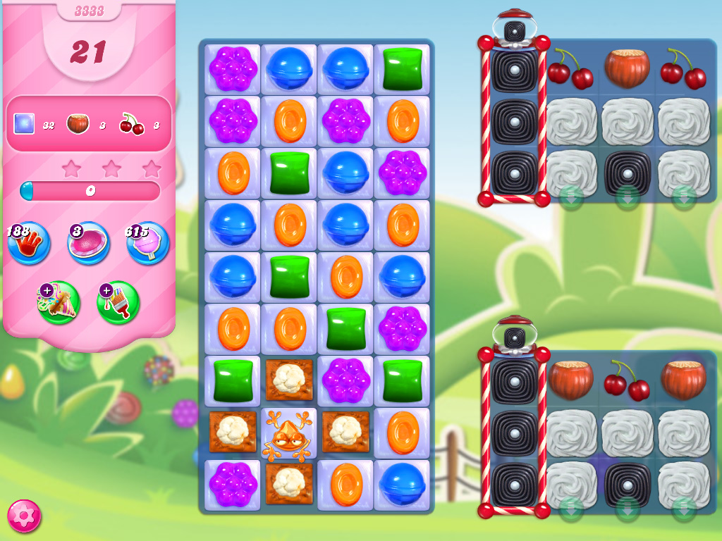 Candy Crush Saga level 3333