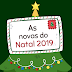 As novas músicas do Natal 2019