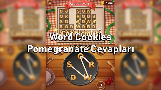 Word Cookies Pomegranate Cevaplari