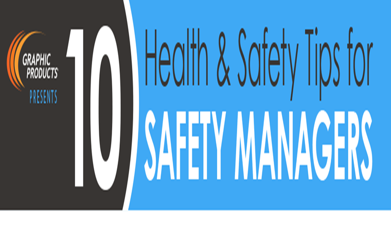 10 Health & Safety Tips for Safety Managers #infographic