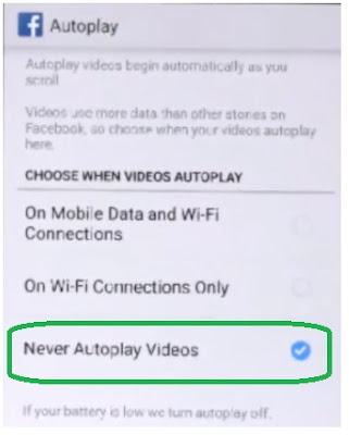 stop autoplaying video on android