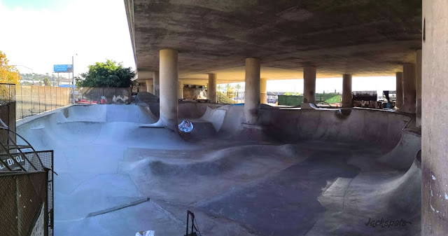 Skatepark DIY washington street san diego