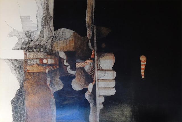 Antonio Andivero dibujo a tinta negra