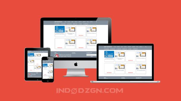Merpatih Amp Premium Blogger Template