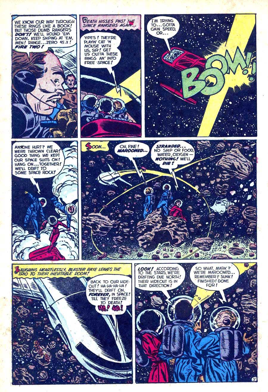 Lost Worlds v1 #6 standard 1950s science fiction comic book page art by Alex Toth