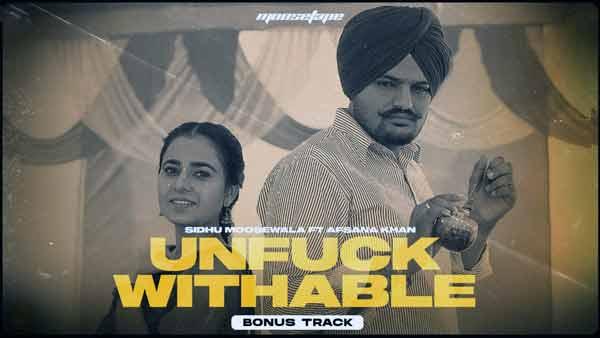 moosetape sidhu moose wala unfuckwithable lyrics