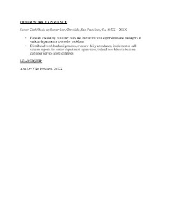 Electrical Engineer Fresher Resume