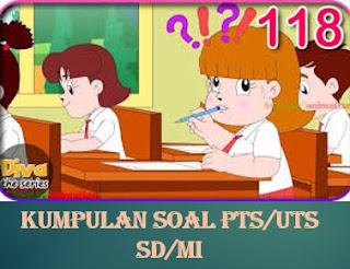 Soal PTS Kelas 1 Semester 1 Tema 2 kegemaranku Mupel PPKn, Mahasa Indonesia Dan Kunci Jawaban Lengkap Kisi-Kisi Soal