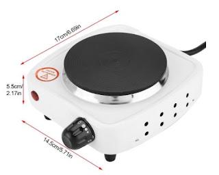 Kompor Listrik Mini Hot Plate Electric Portable