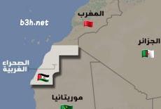 أين تقع دولة الصحراء الغربية