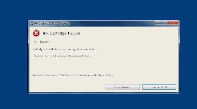 Ink-cartridge Errors