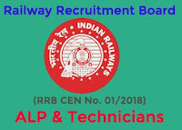 RRB ALP Recruitment 2018 rrb cen 01 2018