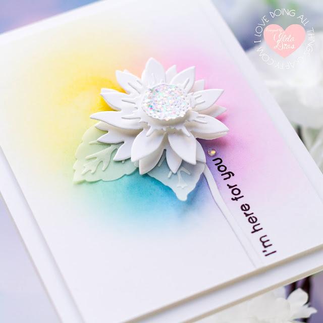 #tonicstudios,#tonicstudiosstampclub,#tonicstudiosusa,blog hop,friendship cards,Giveaway,Sunshine and Flowers,Tonic Studios,Stamp Club,Rainbow,