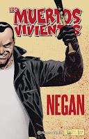 Los muertos vivientes Negan de Kirkman y Adlard