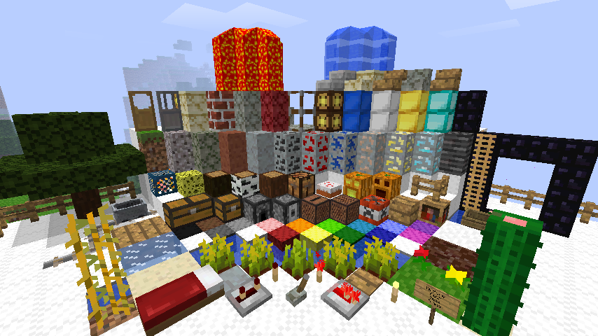 Minecraft Reviewer Mighty Pack A 16x Texture Pack In An 8x8 Style