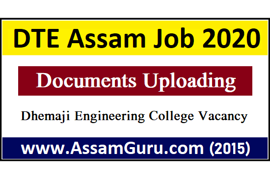 For Dhemaji Engineering College Posts