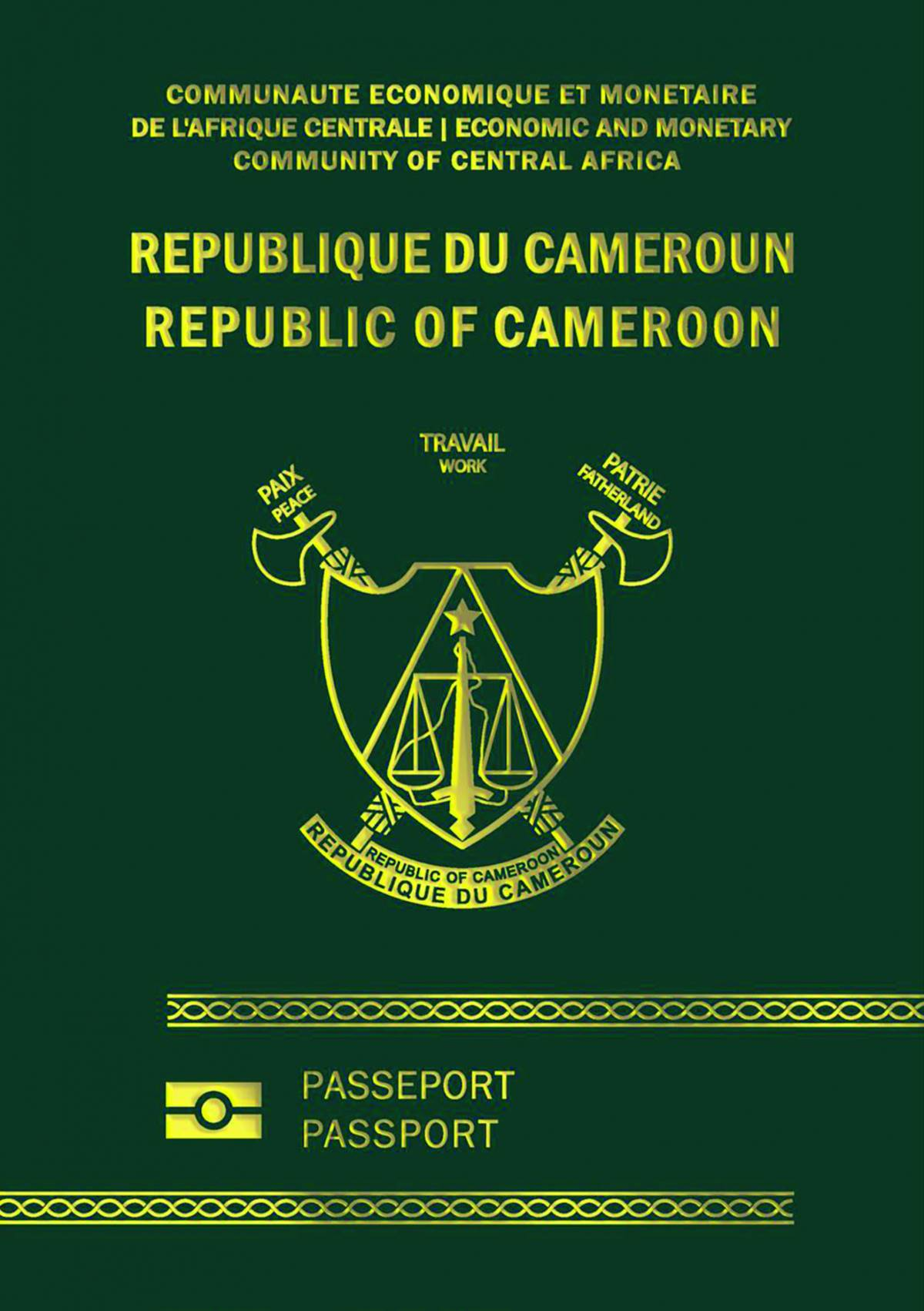 How long does it take to process a passport in Cameroon?