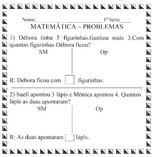 Portal Escola Matematica 2 Ano Problemas Desafios Atividades P Imprimir Ii